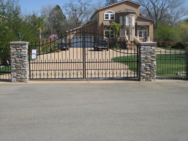 Iron Gates Escondido Wrought Iron Gates Escondido